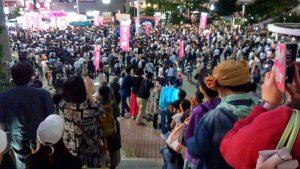 れいわ祭り、品川駅